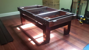 Correctly performing pool table installations, Edmonton Alberta